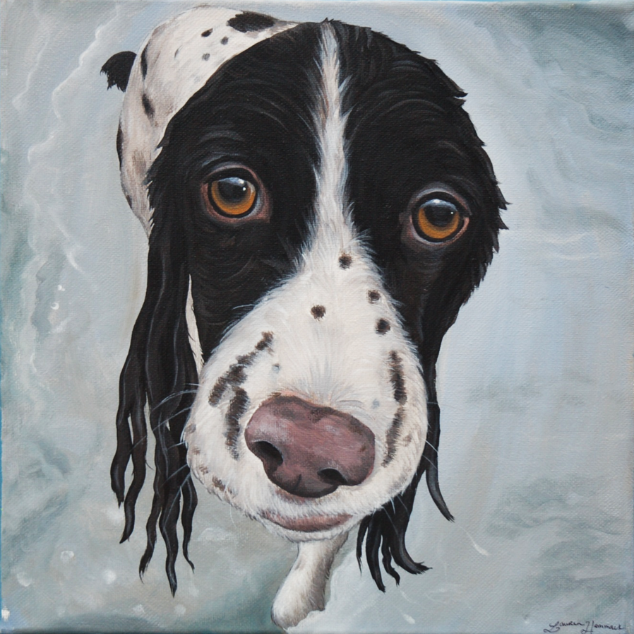 Mack custom pet painting