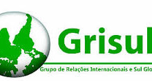 Calendário das reuniões abertas do Grupo de Relações Internacionais e Sul Global (GRISUL)