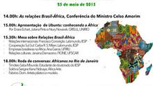 DIA DA ÁFRICA NA UNIRIO / VII JORNADA DE CIÊNCIA POLÍTICA: 25/05