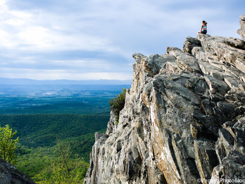 Humpback Rocks: Panorama at the Top