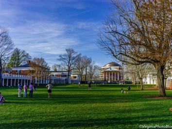 A Walk Around The Lawn: The Copper Top Rotunda