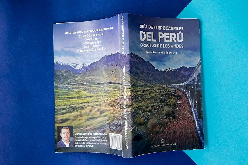 GUÍA DE FERROCARRILES DEL PERÚ - ORGULLO