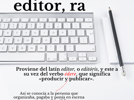 Editor/a
