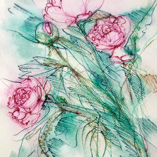 Flowers by Kirsteen Lyons Benson