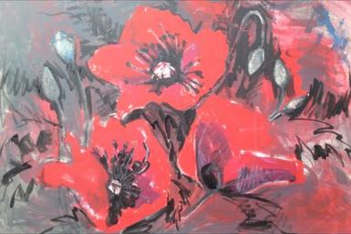 Poppies, Kirsteen Lyons Benson