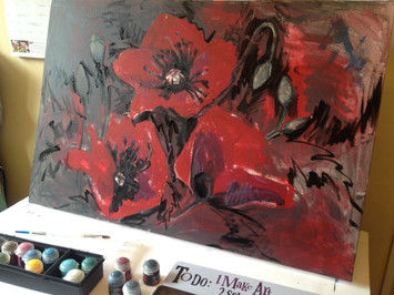 Poppies, By Kirsteen Lyons Benson