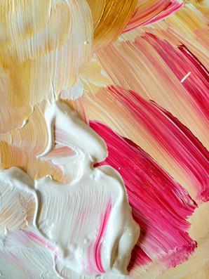 paint, close-up