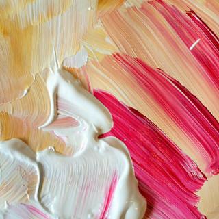 Paint close-up