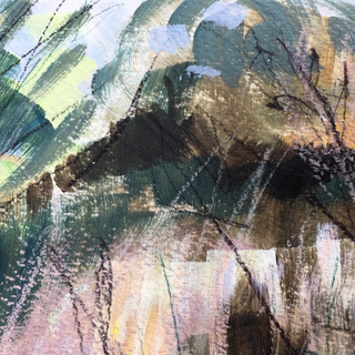 Close-up art by Kirsteen Lyons - Benson BA (Hons)