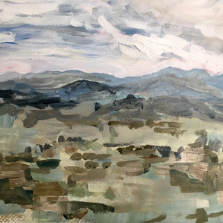 Landscape After Rain by Kirsteen Lyons Benson