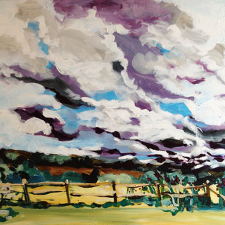 Sky and landscape in Sussex