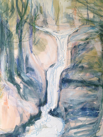 Waterfall, By Kirsteen Lyons Benson