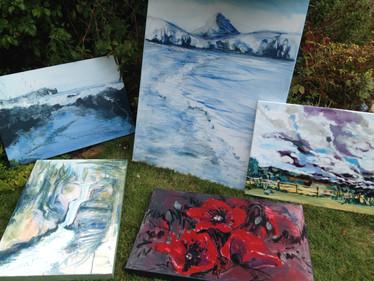 Paintings by Kirsteen Lyons - Benson