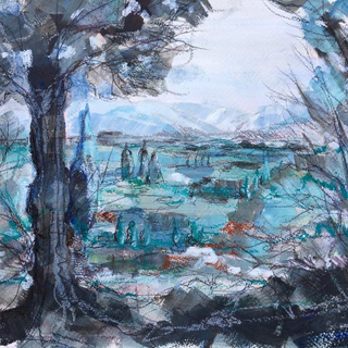 French Landscape by Kirsteen Lyons Benson