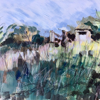 Artist's Garden By Kirsteen Lyons Benson