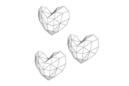 Herz x 3