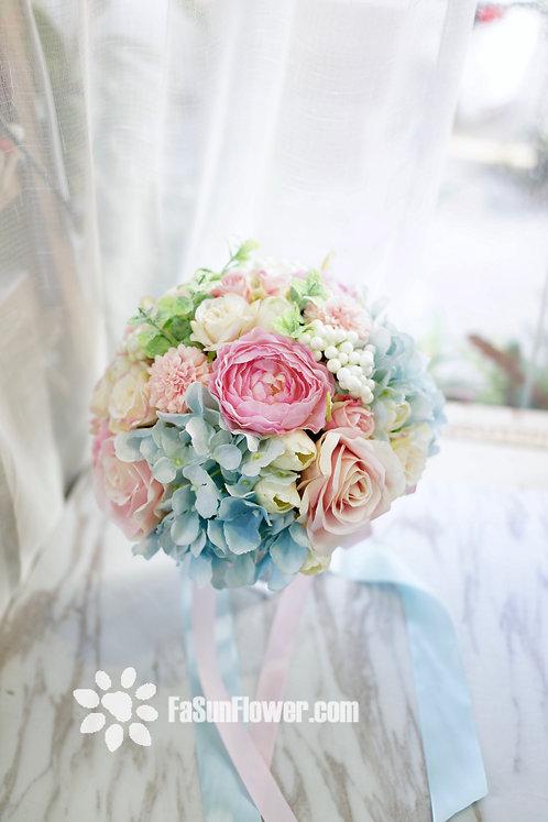 絲花花球 Silk flower bouquet 20