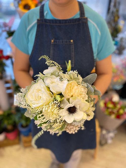 絲花花球 silk flower bouquet 16