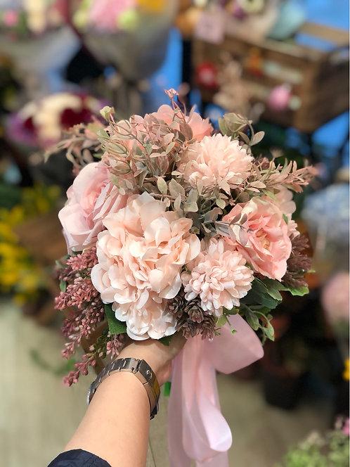 絲花花球 silk flower bouquet 14