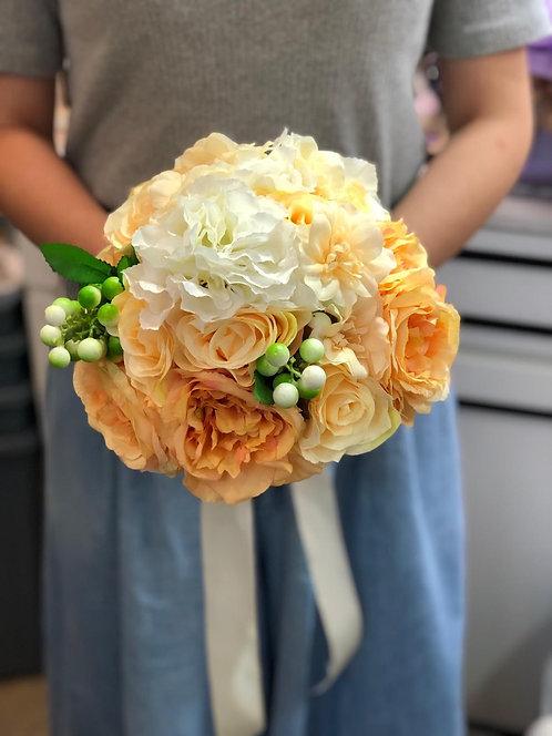 絲花花球 silk flower bouquet 02