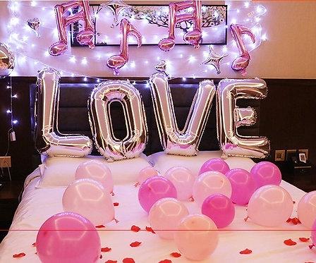 Love自助佈置套裝C(不包括氫氣)
