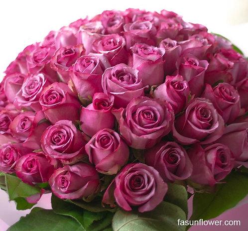 99/108 紫玫瑰花束 Purple Rose Bouquet PU-TRPK99L