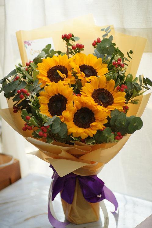 向日葵花束 Sunflower Bouquet SF508