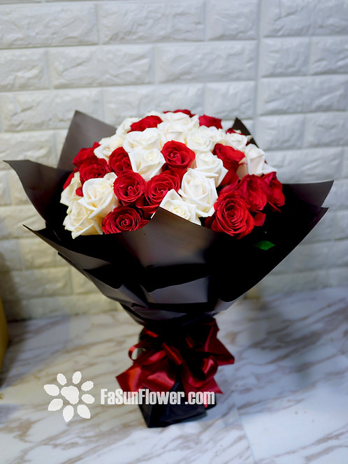 51枝紅玫瑰求婚花束 51 roses bouquet WHRE-BK51