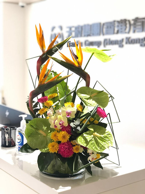 座枱鮮花擺設 Table Floral TT-GA-PB-01