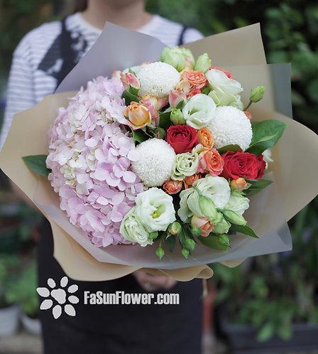 繡球花束 Hydrangea bouquet HY301