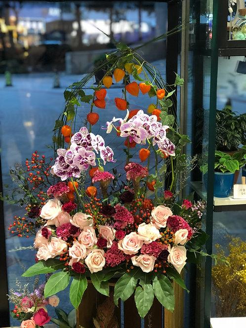 座枱鮮花擺設 Table Floral TT-ORRO-FR-01