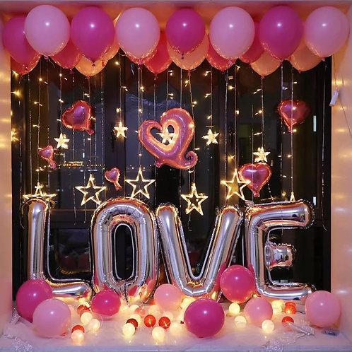 Love自助佈置套裝B(不包括氫氣)