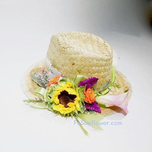 Flower Hat Decoration 鮮花帽子