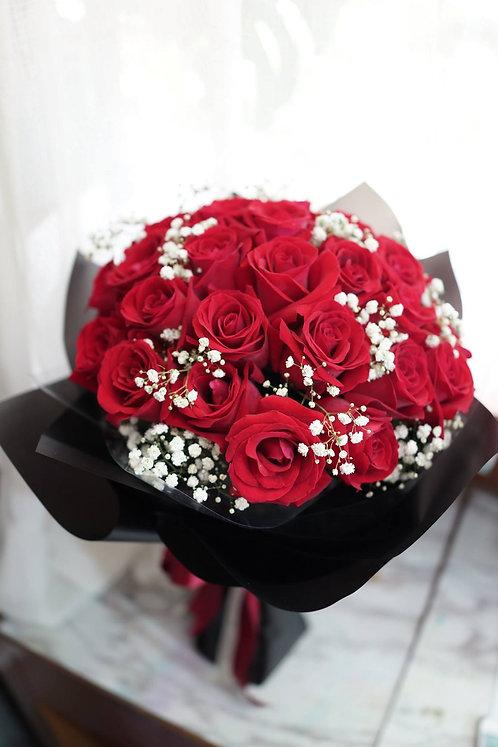 38支玫瑰花束 Roses bouquet RE-BK38SB