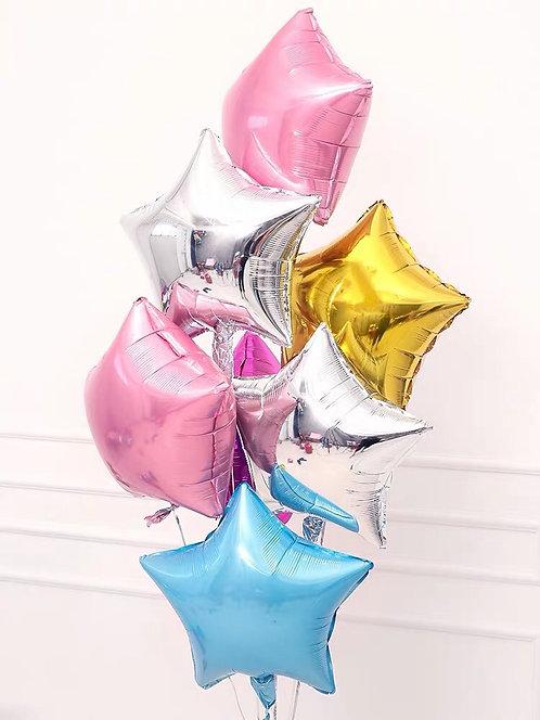 18吋星星鋁膜氣球 (多色可選)
