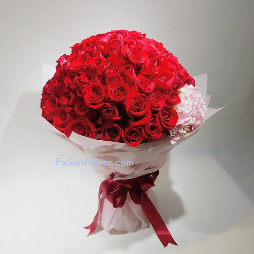 99/108 玫瑰繡球花束 Roses Bouquet RE-PK99PHY