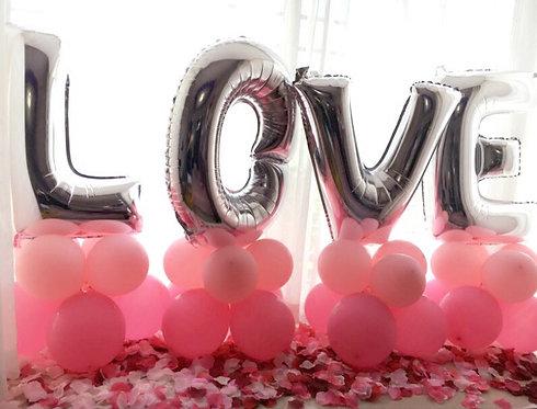 Love自助佈置套裝E(不包括氫氣)