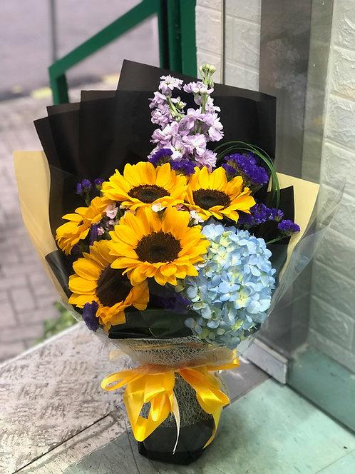 向日葵畢業 Sunflower Graduation bouquet BQ-SFG5