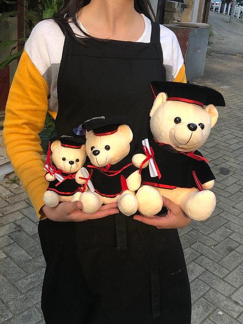 Graduate Stuffed Doll 畢業毛公仔
