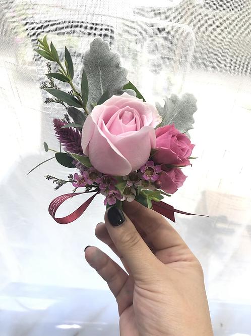 四個鮮花襟花套裝 Rose corsage x4 RCORPP