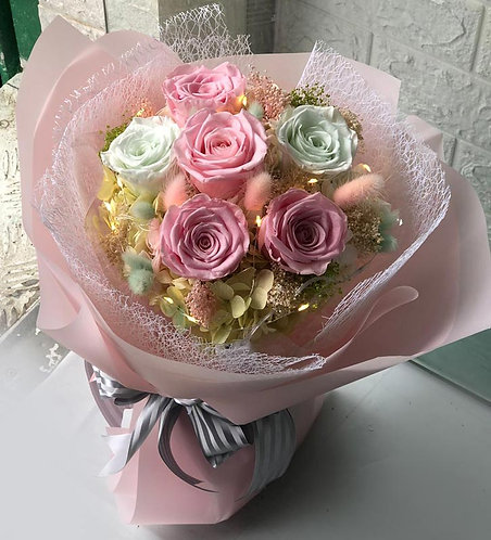 Forever Love Bouquet -My Little Pink PF-FLBMLP6