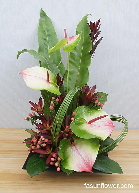 座枱鮮花擺設 Table Floral TT-FL-FG-01