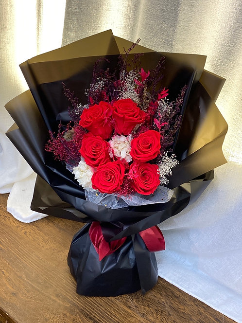 Forever Love Bouquet -Red PF-Red04
