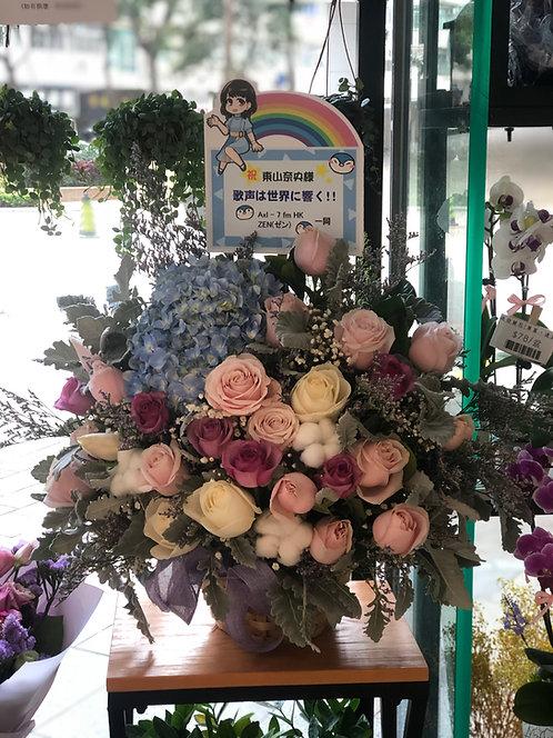 座枱鮮花擺設 Table Floral TT-MIX-LP-02