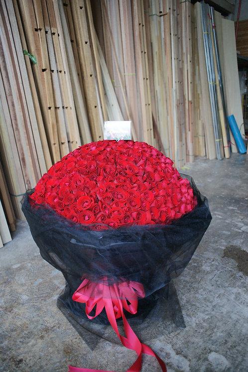 365枝紅玫瑰花束 Rose Bouquet RE-SaBK365