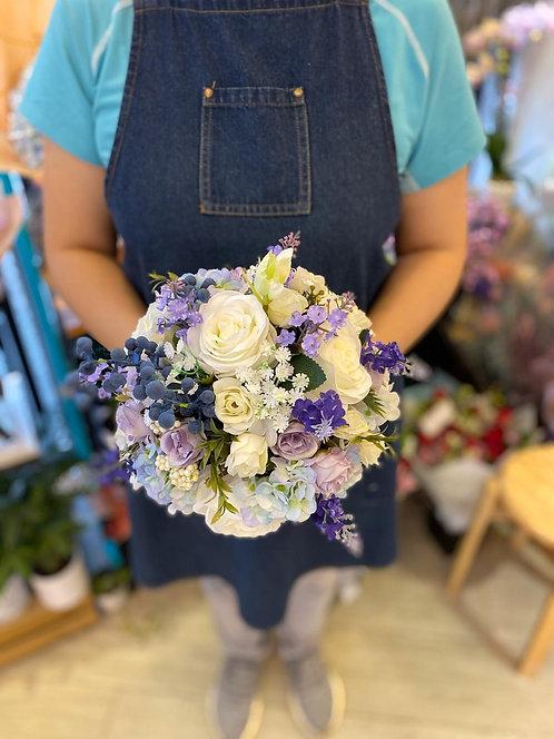 絲花花球 silk flower bouquet 13