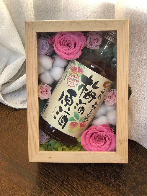 現貨- Love of Wine 醉人之戀 保鮮花花盒 PF-TYWINE