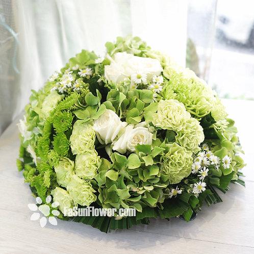 座枱鮮花擺設 Table Floral TT-RO-CH-02