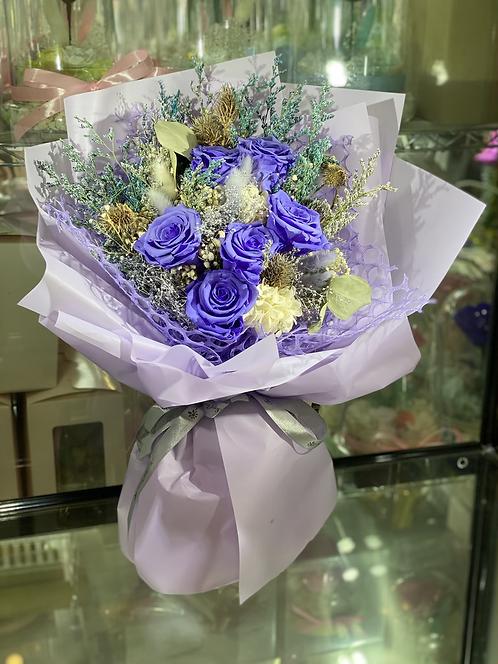 Forever Love Bouquet - Purple02