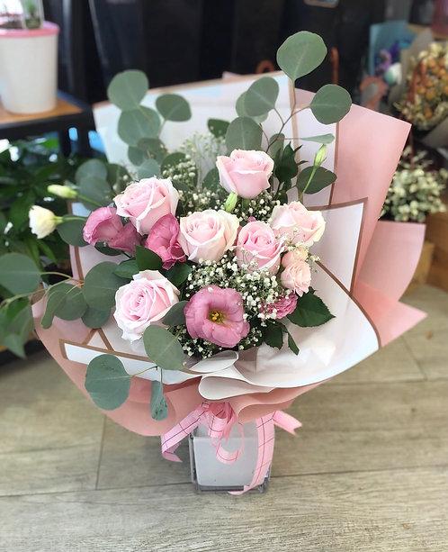 情人節韓式10支玫瑰花束 10 Red Roses Bouquet VD-KSPP10